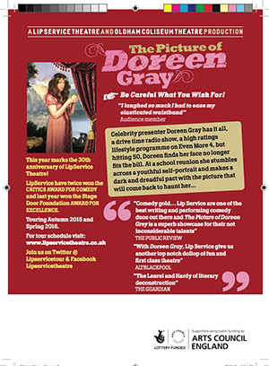 The Picture of Doreen Grey Flyer